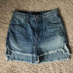 J Brand high waisted shorts